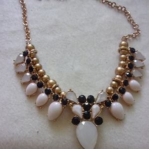 Large bold statement necklace